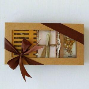box brązowy ylang